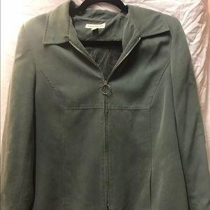 Jackets & Blazers - Green blazer size 12p